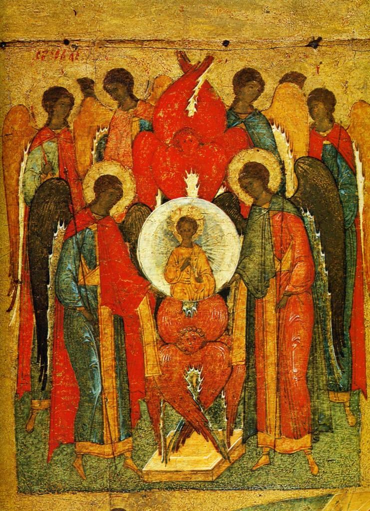 Собор архангелов. Деталь иконы«Шестоднев».